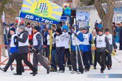 Лыжные гонки руководителей «НКНХ»