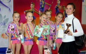 Гимнастки СК «Нефтехимик» привезли награды из Коврова