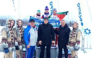 Лыжница Диляра Сабирзянова – бронзовый призёр этапа Кубка России