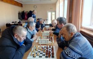 За шахматной доской – ветераны