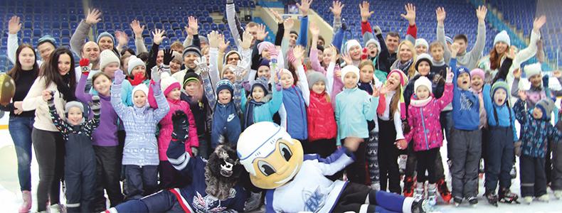 Хотите провести хоккейный турнир или «Весёлые старты» в «Нефтехим Арене»? Обращайтесь к нам!
