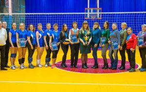 В 1лиге первенства НКНХ по волейболу среди женских команд — новый победитель