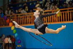 Первенство СК «Нефтехимик» по художественной гимнастике-2018