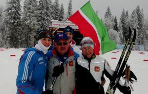 Лыжница СК «Нефтехимик» Диляра Сабирзянова: есть вторая медаль на Кубке России-2018!