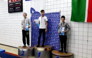 В Открытом первенстве СК «Нефтехимик» по плаванию приняли участие лидеры всероссийских соревнований