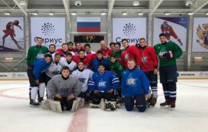 14-летние хоккеисты ДЮСШ «Нефтехимик» — на учебно-тренировочном сборе в Сочи