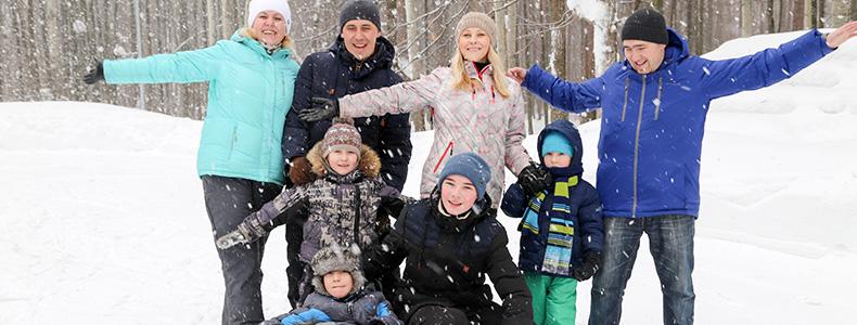 Приглашаем родителей и их детей на семейный заезд с 29 по 31 марта!