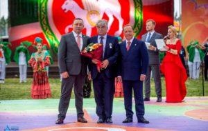 Сергей Клипачёв удостоен медали «За доблестный труд»