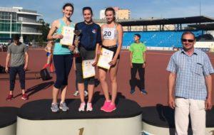 Легкоатлеты СК «Нефтехимик» завоевали награды на Всероссийских соревнованиях