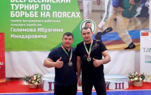 Борцы на поясах СК «Нефтехимик» стали лучшими на Всероссийском турнире