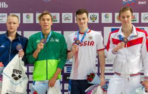 В копилке Александра Кубасова — вторая бронза чемпионата России по плаванию