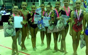 Открытый турнир «Краски осени» принёс гимнасткам СК «Нефтехимик» новые награды