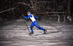На лыжной базе «Алмаш» открыли освещённые трассы