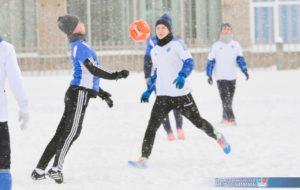 Перерыв в играх первенства ПАО «Нижнекамскнефтехим» по мини-футболу вызван потеплением