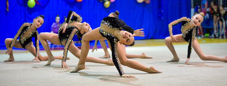 Приглашаем на открытый турнир по художественной гимнастике!