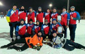 В зимнем турнире ПАО «Нижнекамскнефтехим» по мини-футболу победило УЭиРЭ-1