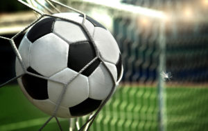 Нефтехимики играют в мини-футбол