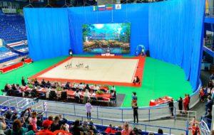 «Маленькая фея»: в «Нефтехим Арене» стартовал открытый турнир по художественной гимнастике